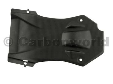 undertail panel carbon mat for Ducati Streetfighter – Image 2