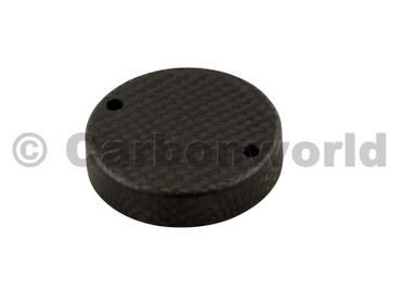 brake fluid container cover for carbon mat Ducati Monster, Panigale, MTS – Image 1