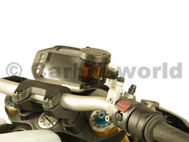 brake fluid container cover for carbon mat Ducati Monster, Panigale, MTS – Image 3