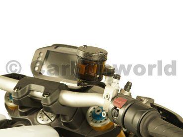 Coperchio contenitore dell\'olio dei freni carbonio opaco per Ducati – Image 3