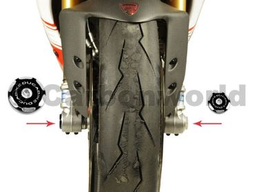 Tappo routa kit racing nero Ducabike per Ducati Streetfighter 848 – Image 2