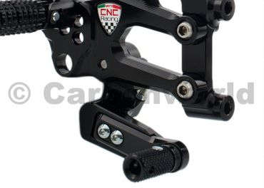 Adjustable rear sets black RPS CNC Racing for Ducati 899 1199 Panigale – Image 5