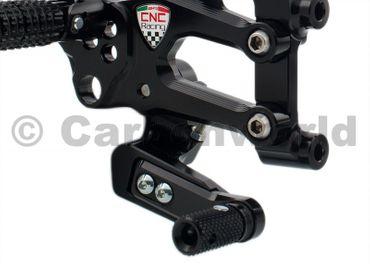 Kit repose pieds noir CNC Racing pour Ducati 899 1199 Panigale – Image 5