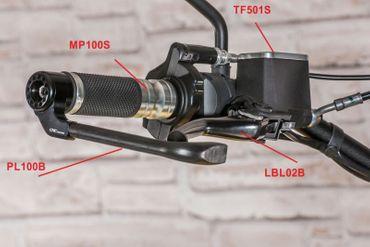 Griffe Lab One schwarz CNC Racing für Ducati Panigale, Multistrada – Bild 3