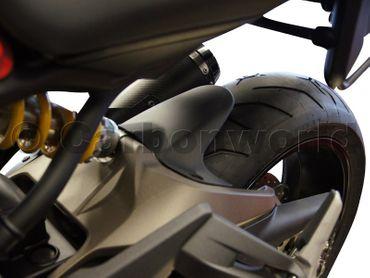 Schutzblech hinten Carbon für Ducati Monster 1200 – Bild 4