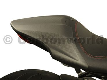 seat cover carbon mat for Ducati Monster 821 1200 – Image 2