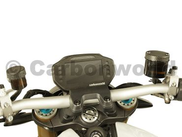 instrument cover carbon mat for Ducati Monster 1200 – Image 2