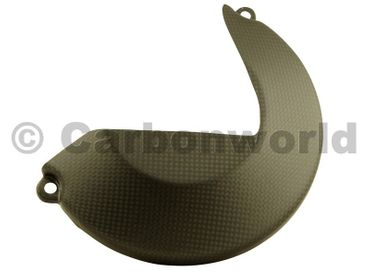 clutch cover carbon mat for Ducati Monster 1200 – Image 1