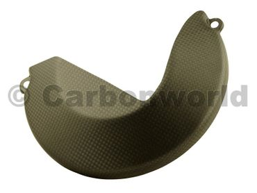 clutch cover carbon mat for Ducati Monster 1200 – Image 3