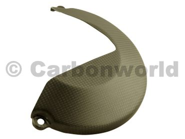 clutch cover carbon mat for Ducati Monster 1200 – Image 4