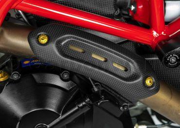 Schrauben Set Auspuff gold CNC Racing für Ducati Hypermotard 821 – Bild 3
