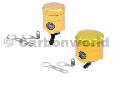 fluid tank gold CNC Racing for Ducati 748 996 998