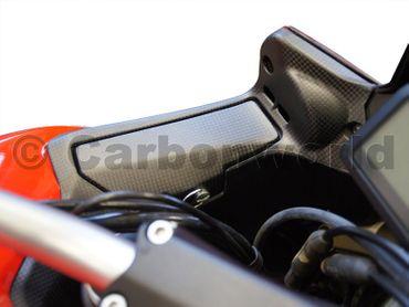 Copri impianto elettrico (dx-sx) carbonio opaco per Ducati Multistrada 1200 2013-2014 – Image 2