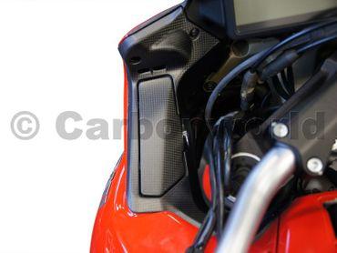 Copri impianto elettrico (dx-sx) carbonio opaco per Ducati Multistrada 1200 2013-2014 – Image 3