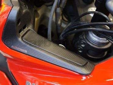 Verkleidungseinsätze Carbon matt für Ducati Multistrada 1200 2013-2014 – Bild 6