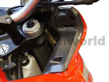 Copri impianto elettrico (dx-sx) carbonio opaco per Ducati Multistrada 1200 2013-2014 – Image 8