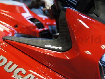 Verkleidungseinsätze Carbon matt für Ducati Multistrada 1200 2013-2014 – Bild 10