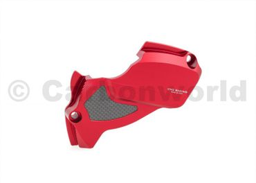 carter pignone ergal rosso CNC Racing per Ducati Monster 1200
