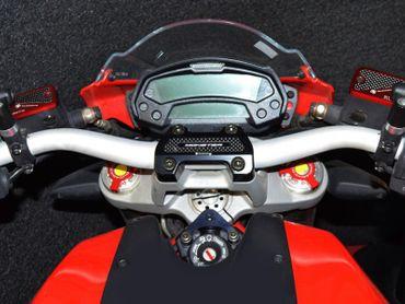Lenkerbrücke schwarz Ducabike für Ducati Monster 796 / 1100 / 1100 EVO – Bild 4