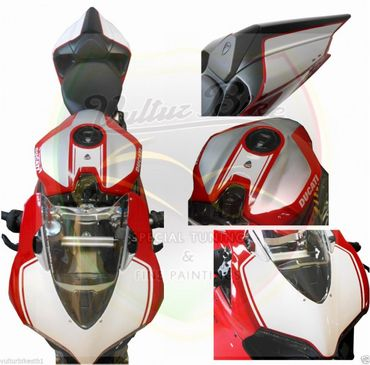 "decal sticker kit ""1299 R-Look"" for Ducati 899 1199 Panigale – Image 2"