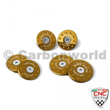 frame plugs gold CNC Racing for MV Agusta Brutale 675 800 – Image 2