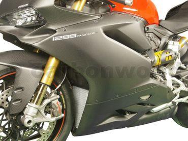 Carenatura STRADA carbonio opaco per Ducati 959 1299 Panigale – Image 5