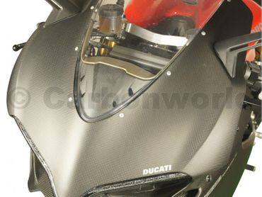 instrument cover (GPS) carbon mat for Ducati 959 1299 Panigale – Image 8
