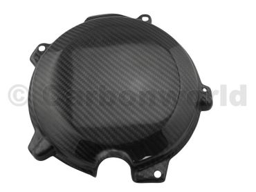 clutch cover carbon for KTM 250 350 450 SXF – Image 1
