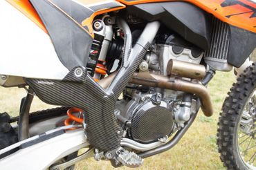 frame protection carbon for KTM 250 350 450 SX – Image 3