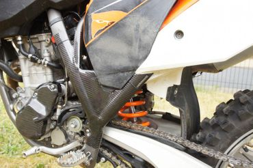 frame protection carbon for KTM 250 350 450 SX – Image 4