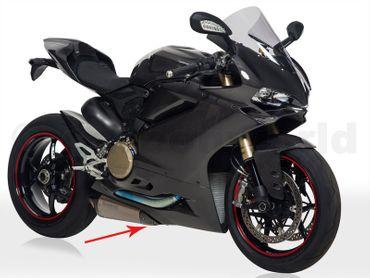 Auspuffschutz carbon - Termignoni - für Ducati 899 1199 Panigale – Bild 3
