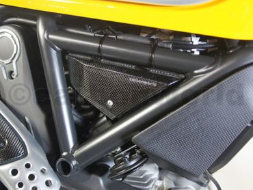 004SCM Carbonworld side panels carbon mat for Ducati Scrambler  – Image 5