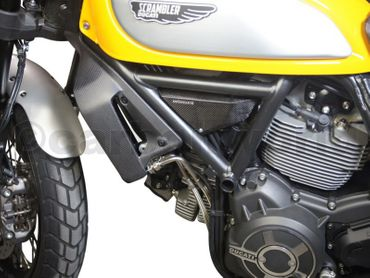 004SCM Carbonworld side panels carbon mat for Ducati Scrambler  – Image 4