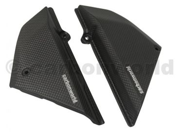 004SCM Carbonworld side panels carbon mat for Ducati Scrambler  – Image 1