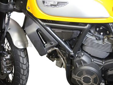 cooler cover carbon glossy for Ducati Scrambler  – Image 5
