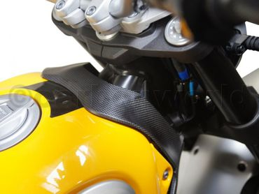upper tankcover carbon glossy for Ducati Scrambler  – Image 2