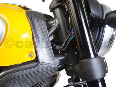 upper tankcover carbon glossy for Ducati Scrambler  – Image 4