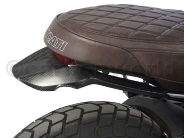 rear frame cover carbon mat for Ducati Scrambler Icon / Urban – Image 3