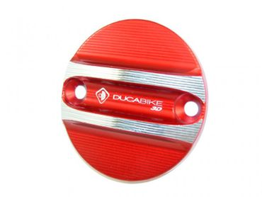 engine cover red Ducabike for Ducati Scrambler, X Diavel – Image 1