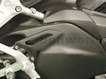 Fersenschutz Carbon matt für Ducati 1199 1299 Panigale – Bild 4