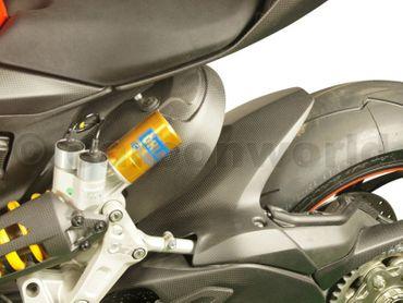 garde-boue arrière carbone mate pour Ducati Panigale 1199 1299 – Image 2