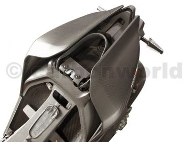 seat tail center mat carbonfiber for Ducati Panigale 959 1299 – Image 8