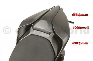 seat tail center mat carbonfiber for Ducati Panigale 959 1299 – Image 11