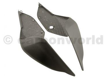 Sitzbank Seitenteile Carbon matt für Ducati Panigale 959 1299 – Bild 3