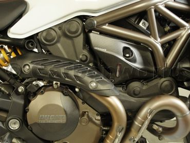 cache d embrayage pour embrayage carbone mate pour Ducati Monster 1200 – Image 6