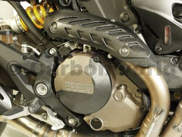 cache d embrayage pour embrayage carbone mate pour Ducati Monster 1200 – Image 7