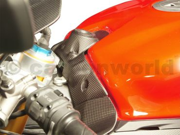key guard cover carbon mat for Ducati 899 959 1199 1299  Panigale – Image 7
