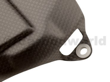 clutch cover carbon mat for Ducati 1199 1299 Panigale – Image 4