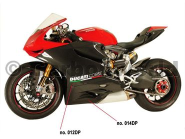 belly pan carbon fiber strada for Ducati 899 959 1199 1299 Panigale – Image 5