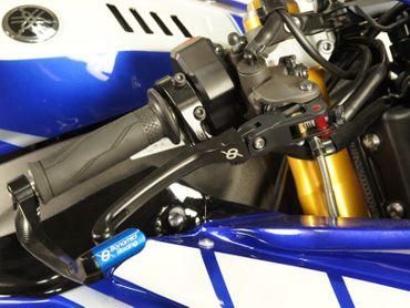leva freno nero Bonamici Racing per Yamaha YZF R1/R1M – Image 2